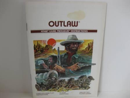 Outlaw (White Version) - Atari 2600 Manual